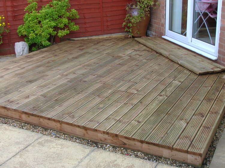 Clean up Decking