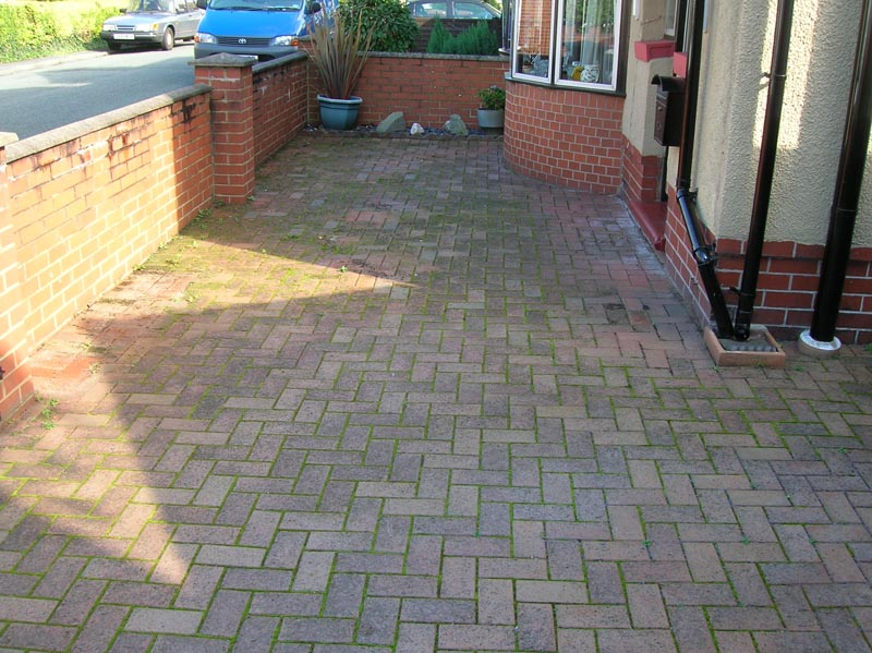 Cleaning Block Paving patios