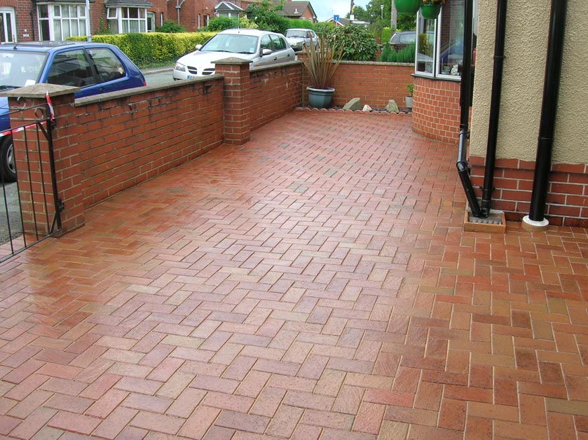 Restoring Block Paving patios