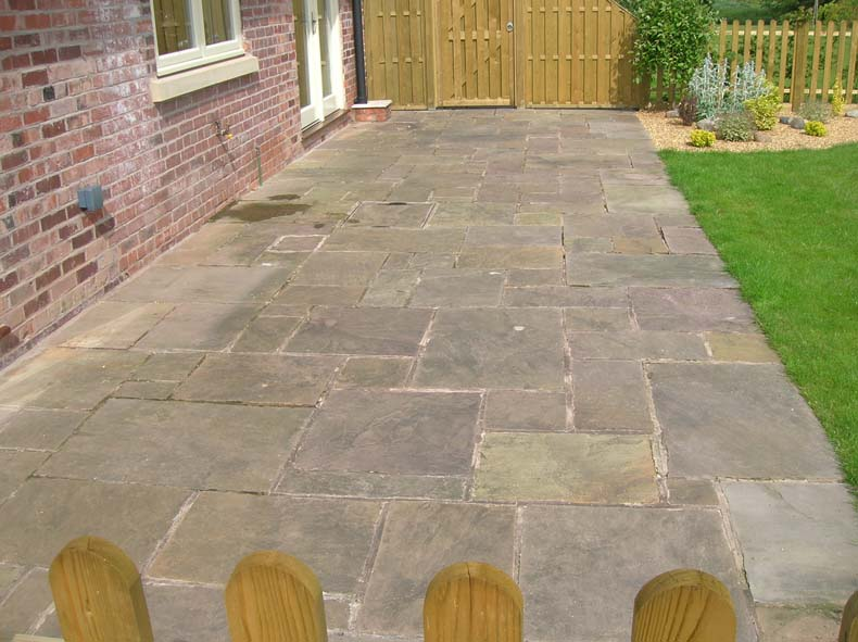 Indian stone cleaning