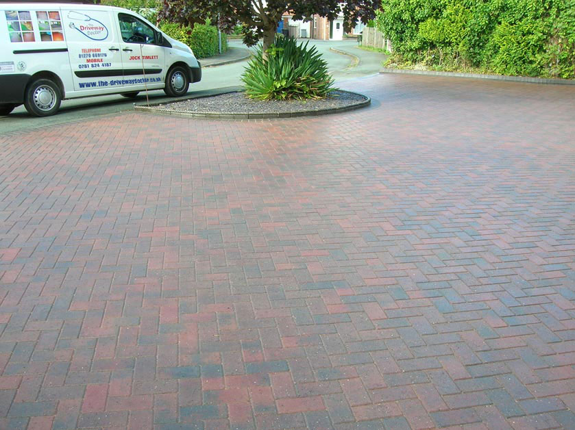 Cleaning Block Paving terraces