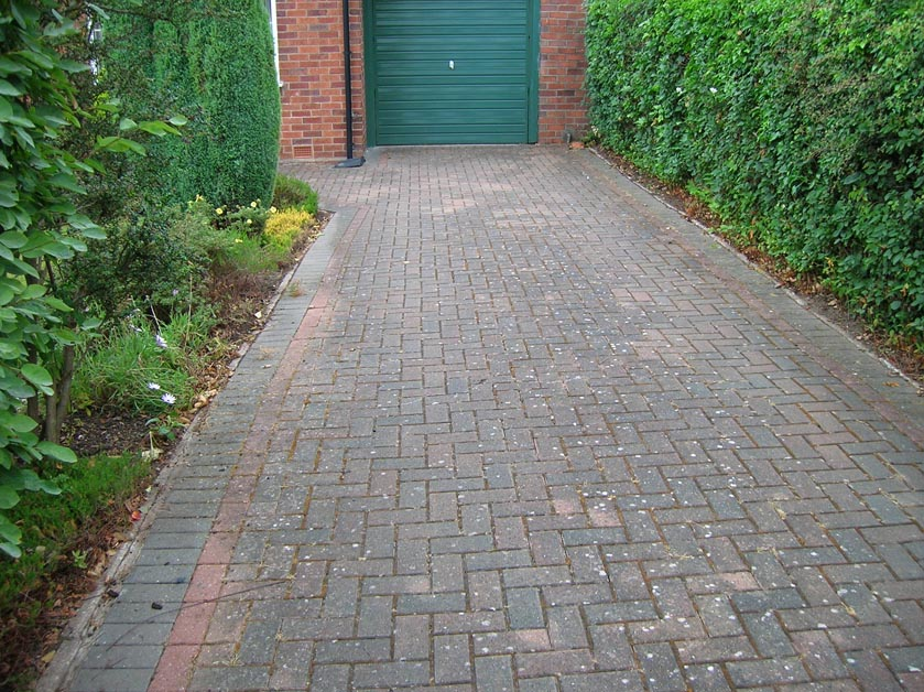 Restoring Block Paving driveways